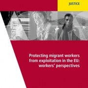 thumbnail of 2019 FRA – Protecting migrant workers from exploitation in the EU – Workers'